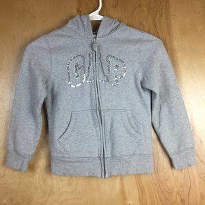 Gap Girls Sequin Zip Up Jacket